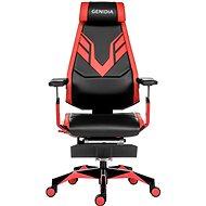 ANTARES Genidia Gaming - piros - Gamer szék