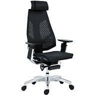 ANTARES Genidia, fekete-ezüst - Irodai szék