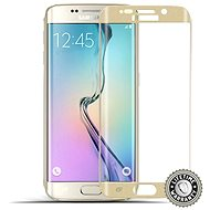 ScreenShield Tempered Glass Samsung Galaxy S6 Edge (G925) Gold - Képernyővédő üveg