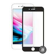 Screenshield APPLE iPhone 8 Plus Tempered Glass Protection (full COVER black) a kijelzőre - Képernyővédő
