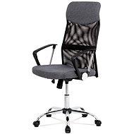 Irodai fotel AUTRONIC BAXTER, szürke - Kancelářské křeslo