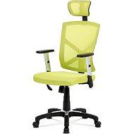 AUTRONIC Kokomo fekete / zöld - Irodai szék