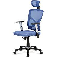 AUTRONIC Kokomo fekete / kék - Irodai szék