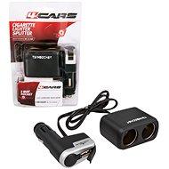 4CARS Kombinált autós töltő a szivargyújtóba 12/24V S USB - Autós töltő