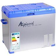 Alpicool Autós hűtőtáska kompresszorral 50L 230/24/12V -20°C - Autós hűtőtáska