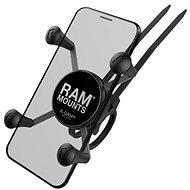 A RAM az X-Grip mobiltelefon-tartó szerelvényt tartalmazza kisebb telefonokhoz, EZ-ON / OFF tartóval
