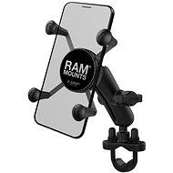 A RAM az X-Grip mobiltelefon-tartó komplettjét rögzíti, kormánykarral