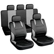 9 db-os sport üléshuzat szett - oldallégzsák kompatibilis - Autós üléshuzat