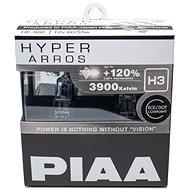 PIAA Hyper Arros 3900K H3 + 120% növelt fényerő, 2 db - Autóizzó