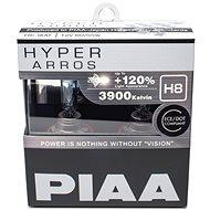 PIAA Hyper Arros 3900K H8 + 120% növelt fényerő, 2 db - Autóizzó