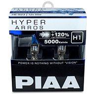 PIAA Hyper Arros 5000K H1 + 120% ragyogó fehér fény, 5000K színhőmérséklet, 2 db - Autóizzó