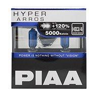 PIAA Hyper Arros 5000K HB3/HB4, +120% ragyogó fehér fény, 5000K színhőmérséklet, 2 db - Autóizzó