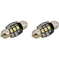 COMPASS izzó 3 LED SMD 12V suf.11X32 SV8.5 NEW-CAN-BUS, fehér, 2 db - Autóizzó