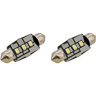 COMPASS izzó 3 LED SMD 12V suf.11X38 SV8.5 NEW-CAN-BUS, fehér, 2 db - Autóizzó