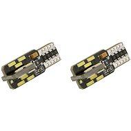 COMPASS izzó 24 LED 12V T10 NEW-CAN-BUS, fehér, 2 db - Autóizzó