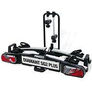 Pro-USER Diamant SG2 PLUS - tartó két kerékpárhoz - Vonóhorogra szerelhető kerékpártartó