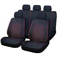 CAPPA SYDNEY Autós üléshuzat, fekete/piros - Autós üléshuzat