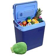Compass BLUE 25 l autós hűtőtáska 220 / 12 V hőmérsékleti kijelzővel + ajándék! - Autós hűtőtáska