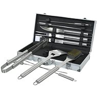 COMPASS grill szett, 11 db-os alumínium kofferral - Grill szett