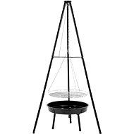 VOREL Kerek faszenes grill 52 cm - Grill