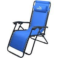 LIVORNO Kempingfotel állítható kék - Fotel