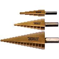 Sthor lépcsős fúró készlet - 3 db 4-32 mm - Fúrószár készlet