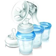 Philips AVENT Kézi mellszívó Natural + VIA 180 ml - Mellszívó