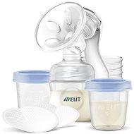 Philips AVENT Natural kézi mellszívó 125 ml + VIA tartály 180 ml - 5 db - Mellszívó
