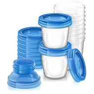 Philips AVENT VIA poharak fedéllel 180 ml - 10 db - Ételtartó szett
