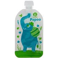 Papoo Petite és Mars zseb élelmiszer tároló  - 6 x 150 ml - Újratölthető bébiételtartó