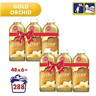LENOR Gold Orchidea 6 × 1,42 l (282 mosás) - Öblítő