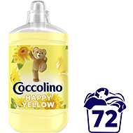 COCCOLINO Happy Yellow 1,8 l (72 mosás) - Öblítő