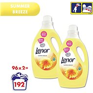 LENOR Summer Breeze 2 × 2.905 l (192 lemosás) - Öblítő