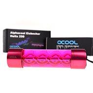 Alphacool Eisbecher Helix 250mm Reservoir- piros - Expanziós edény