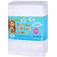 T-tomi textilpelenka 10db - fehér - Textilpelenka