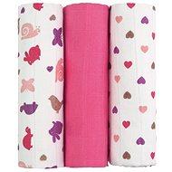 T-tomi textil TETRA pelenka pink snails - Textilpelenka