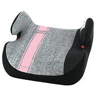 NANIA Topo Comfort First Line Pink 15-36 kg - Ülésmagasító