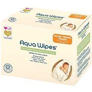 AQUA WIPES EKO BOX 12× 12 db - Baba törlőkendő