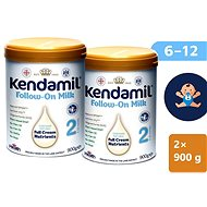 Kendamil Continuing Milk 2 DHA + (2 × 900 g) - Bébitápszer