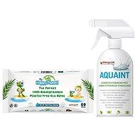 AQUAINT ajándékcsomag 500 ml + ajándék HAPPY PLANET törlőkendők - Ajándékcsomag