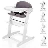 ZOPA Grow-up szék fehér / szürke - Etetőszék
