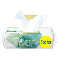 PAMPERS Coconut Pure 42 db - Baba törlőkendő