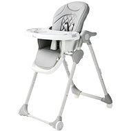 Bo Jungle B-Dinner Chair Wheely szürke - Etetőszék