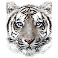 Jerry Fabrics mikroflanel takaró, fehér tigris - Babakocsi takaró