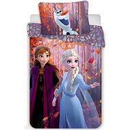 Jerry Fabrics ágynemű huzat - Frozen 2 sisters purple - Gyerek ágyneműhuzat