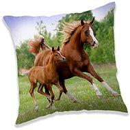 Jerry Fabrics párna Horse brown - Párna