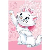 Jerry Fabrics Marie cat butterfly gyerek pléd - Takaró