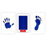 GOLD BABY szett gyereknyomatokhoz - kék - Lenyomatkészítő