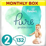 PAMPERS Pure Protection 2-es méret (132 db) - Pelenka