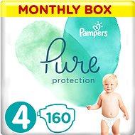 PAMPERS Pure Protection 4-es méret (160 db) - Pelenka